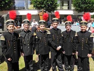 Sechs neue Jungmusiker verstärken die Knappenkapelle Daaden