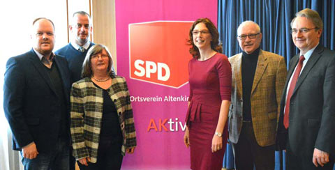 25. Neujahrsempfang der SPD Altenkirchen und Weyerbusch