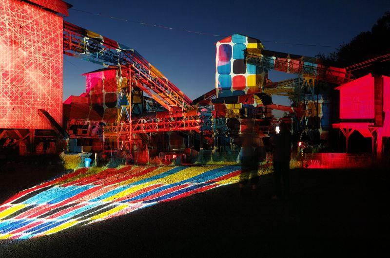 Großes Stöffel-Strahlen am 15. August: Licht-Kunst in Industrielandschaft