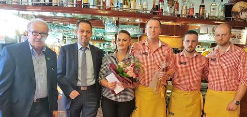 20 Jahre Nikis Eis-Café in Horhausen