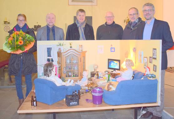 Mitmachausstellung zum Projekt Armut in Asbach eröffnet