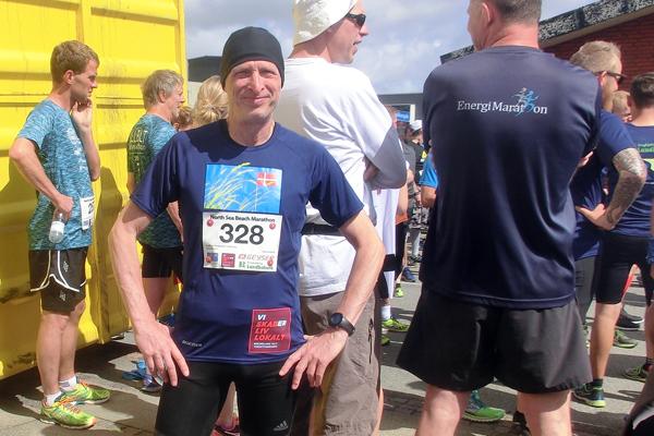 Jörg Dittrich finishte Halbmarathon im Nordseestrand