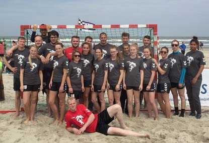 Handballteams aus Hamm beim Beachturnier auf Norderney