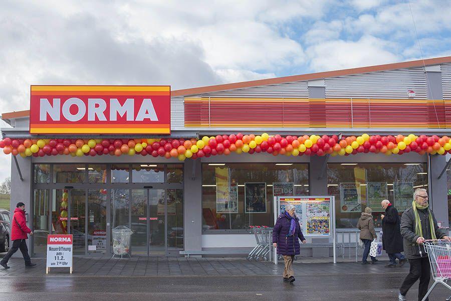 Eröffnung des neuen Norma-Marktes in Dierdorf mit großem Andrang