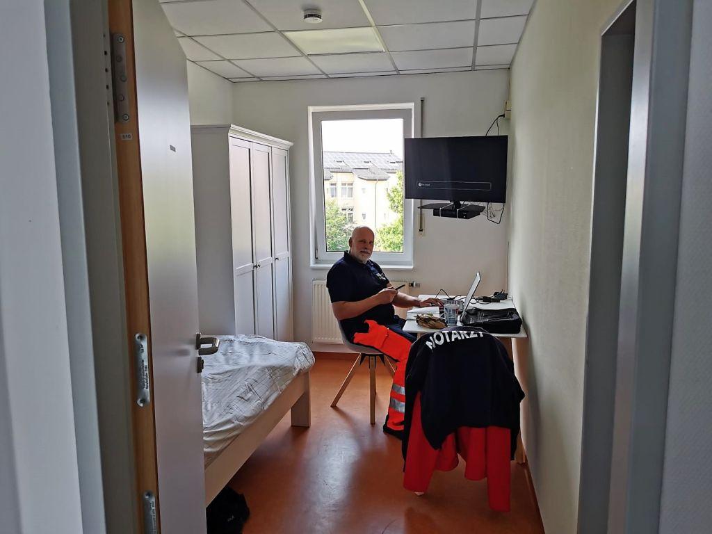 Modernisierung am Notarzt-Standort Dierdorf