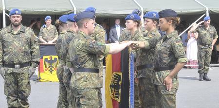 Ein großer Tag für 66 Rekruten: Gelöbnis und Vereidigung in der Alsberg-Kaserne