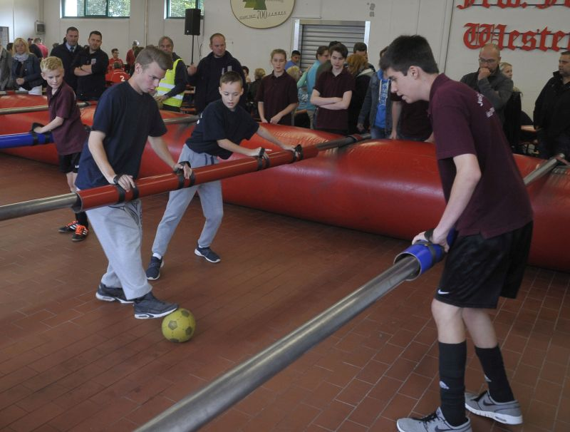 Lebendkickerturnier der Jugendfeuerwehren in Westerburg