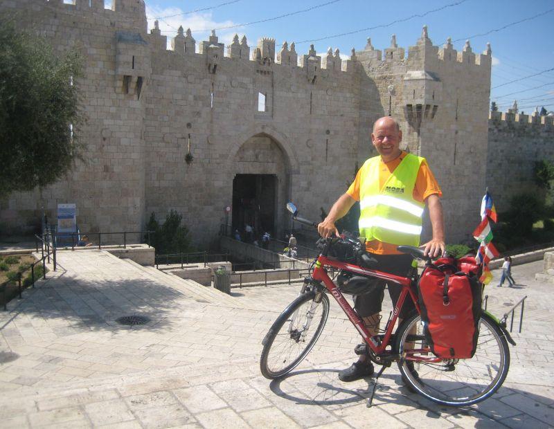 Pilgerreise mit dem Fahrrad von Istanbul bis Jerusalem