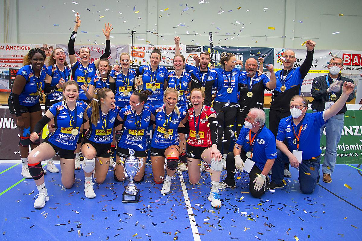 Volleyball: DVV-Pokalrunden ausgelost - VC Neuwied ist dabei