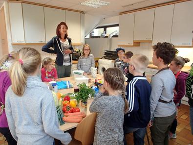 Mitmach-Kochkurs für Kinder fand reges Interesse