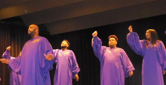 New York Gospel Stars sorgten für Gänsehaut-Momente