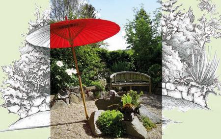 Individuelle und charmante Stationen: Garten-Tag in Obererbach
