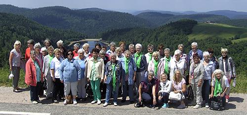 Landfrauen Hamm reisten in den Schwarzwald und das Elsass