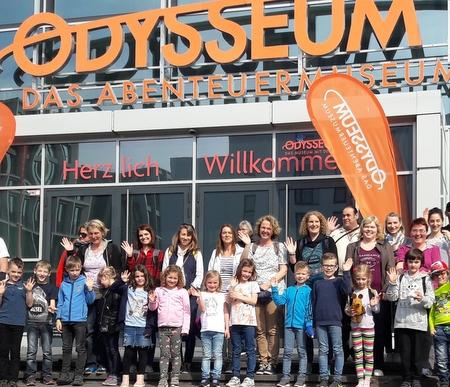 Ereignisreiche Familienfahrt ins Odysseum nach Köln