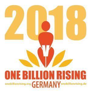 Emblem der One Billion Rising-Aktion Koblenz. Foto: www.onebillionrising.de