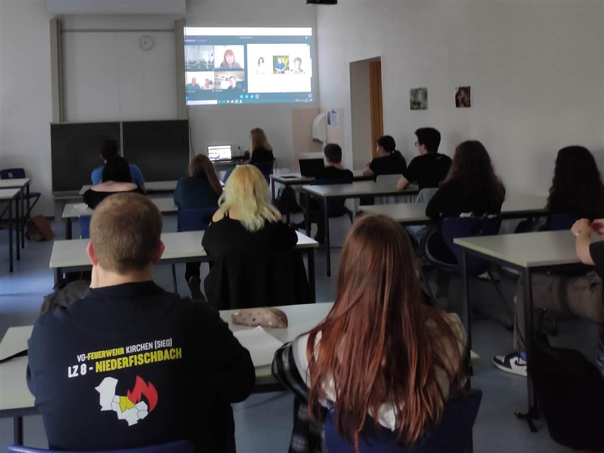 Organspende: Virtuelle Schultour an der IGS Betzdorf-Kirchen