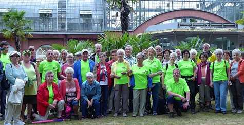 Wandertour im Odenwald mit Besuch im Palmengarten