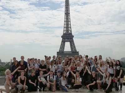 Parisfahrt der August-Sander-Schule Altenkirchen