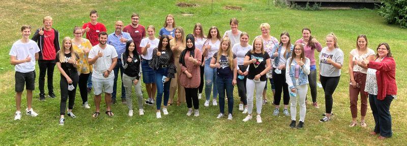 55 Auszubildende starten an Pflegeschule in Hachenburg