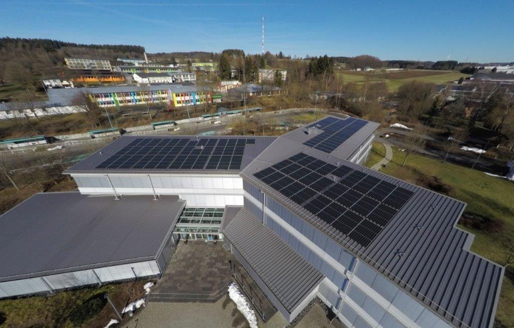 Photovoltaikanlagen der VG Bad Marienberg für Umwelt- und Klimaschutz