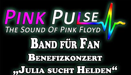 Benefizkonzert �Band f�r Fan � Julia sucht Helden� am 28. Januar