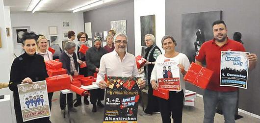 Aktionskreis Altenkirchen: Konzept f�r den Weihnachtsmarkt