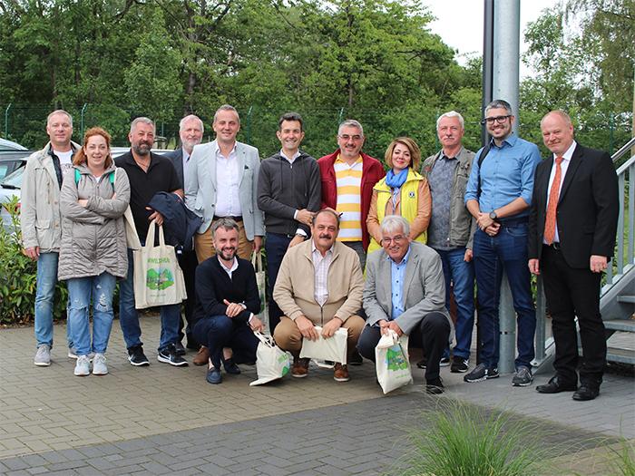 Abfallwirtschaftsbetrieb hatte Fachleute aus Rumänien zu Besuch