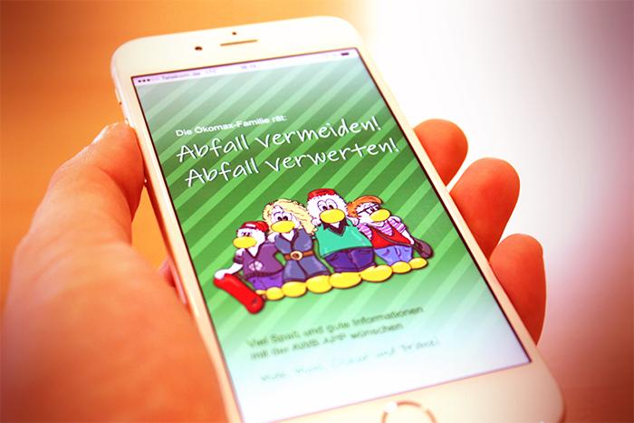 Eine Erfolgsgeschichte: Die Abfall-App des Abfallwirtschaftsbetriebes