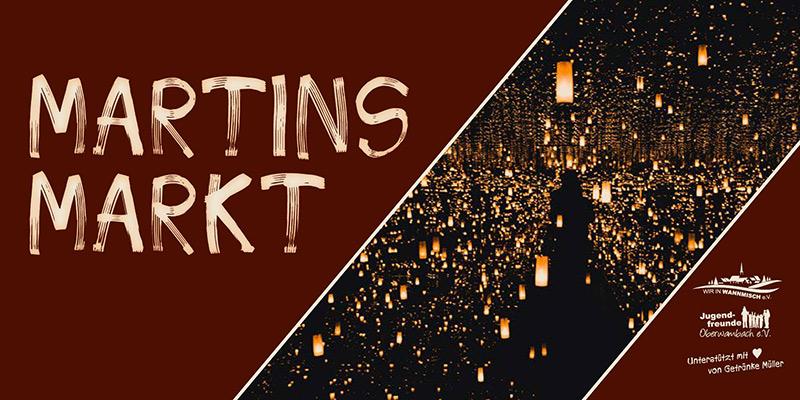1. Martinsmarkt mit Martinsumzug in Oberwambach