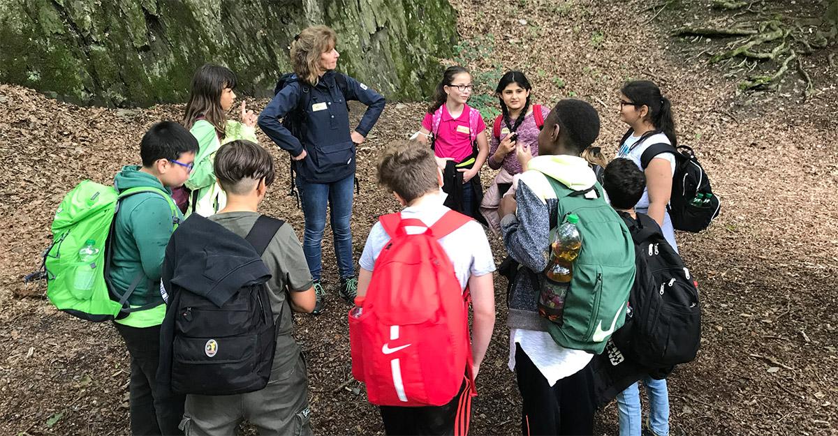 Schulkinder erlebten spannenden Naturaktionstag