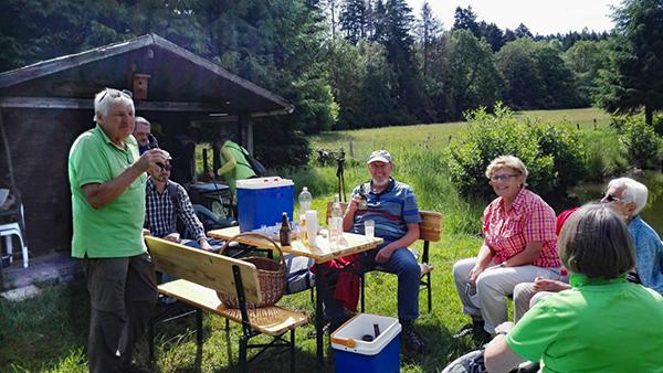 Der Westerwaldverein Bad Marienberg war auf Tour