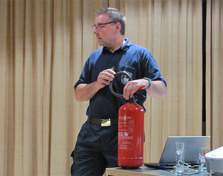 Thema Brandschutz in Brunken begeisterte