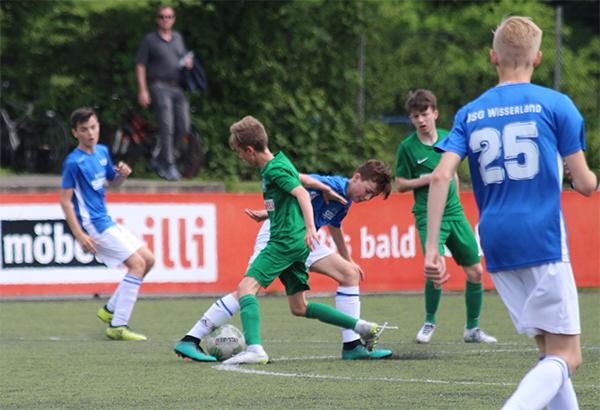 C1 der JSG Wisserland gewinnt ihr letztes Auswärtsspiel