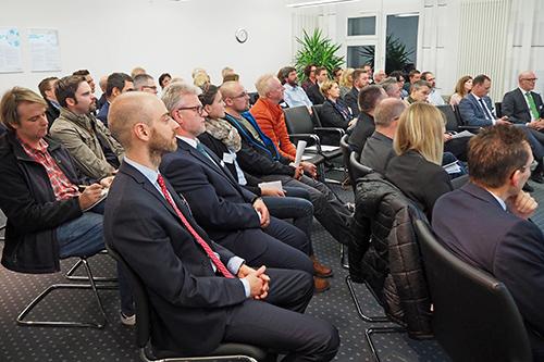 Netzwerkveranstaltung rund um die Themen Patent-, Marken-, und Designschutz