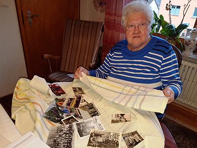 Als die Webstühle noch klapperten - eine Rentnerin erinnert sich