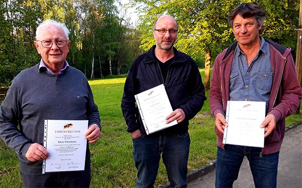 Langjährige Ratsarbeit in der Gemeinde Schürdt gewürdigt