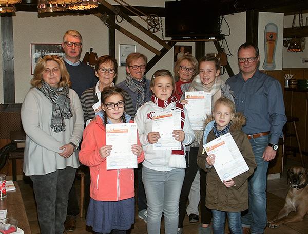 Ski-Club Wissen lud zur Verleihung der Deutschen Sportabzeichen