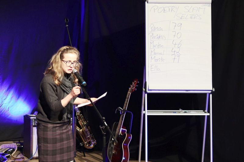 Zweiter Poetry Slam in Selters
