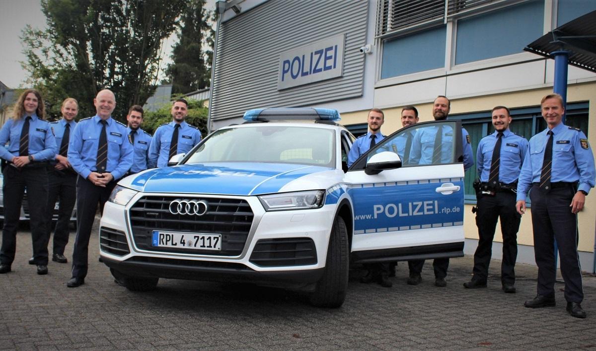 Westerburg: Acht neue Polizeibeamte verstärken die Inspektion