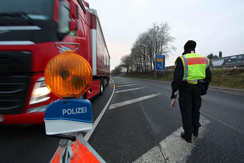 Einbrechern den Kampf angesagt – Große Polizeikontrolle