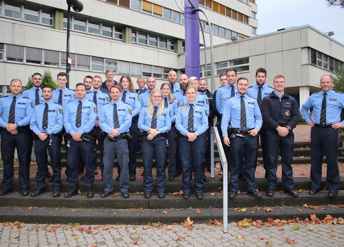 14 neue Polizeibeamte im Westerwaldkreis