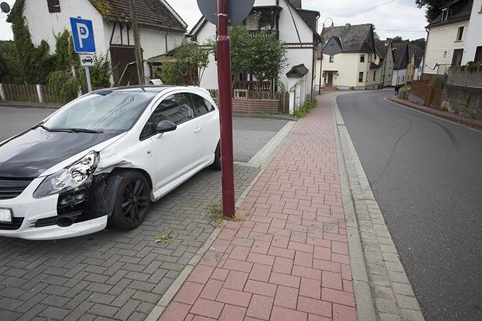 Polizei verfolgte Diebe in Dierdorf