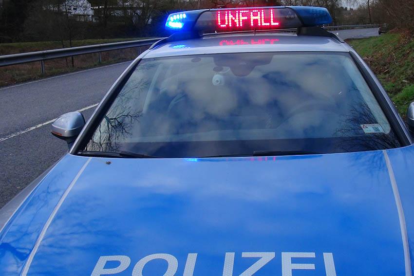 Auffahrunfall mit Sachschaden stellt Polizei vor Rätsel