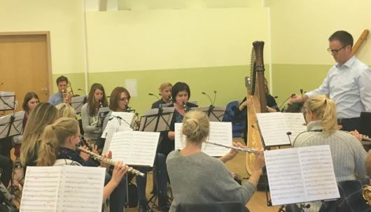 Musikverein Dermbach l�dt zum Konzert ins H�ttenhaus