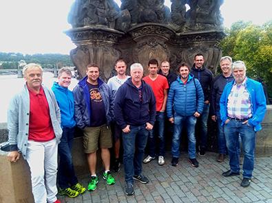 Die Alten Herren vom TuS Honigsessen verbrachten schöne Tage in Prag