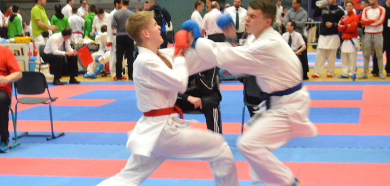 Karate: Viermal Gold beim Barbarossa Cup in Kaiserslautern