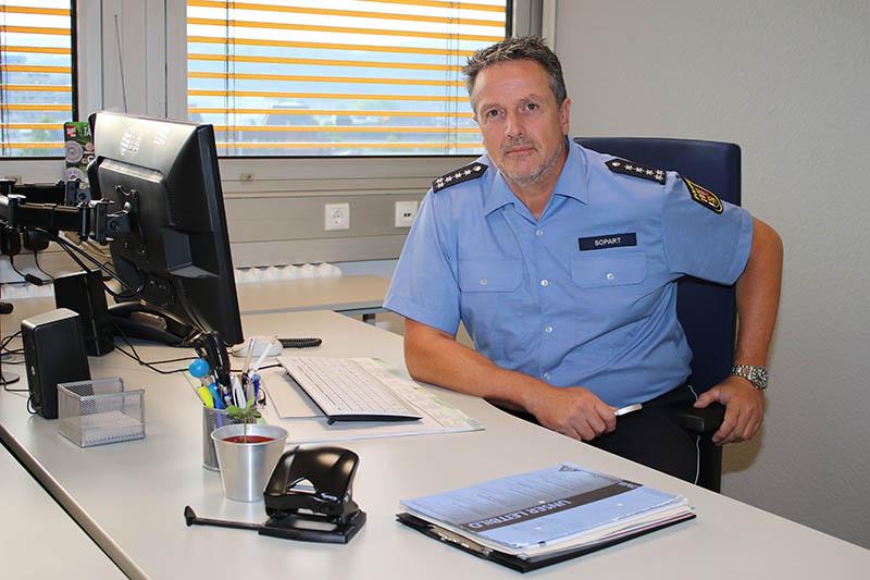 Pressestelle des Polizeipräsidiums Koblenz unter neuer Leitung