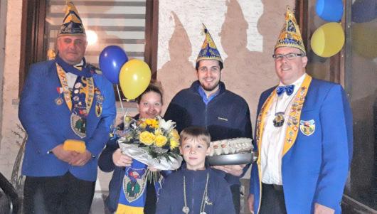 Sessions-Start in Hümmerich: Burglahrer Prinzenpaar will Vollgas geben