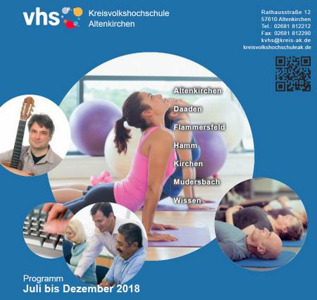 600 Angebote: Halbjahresprogramm der Kreisvolkshochschule