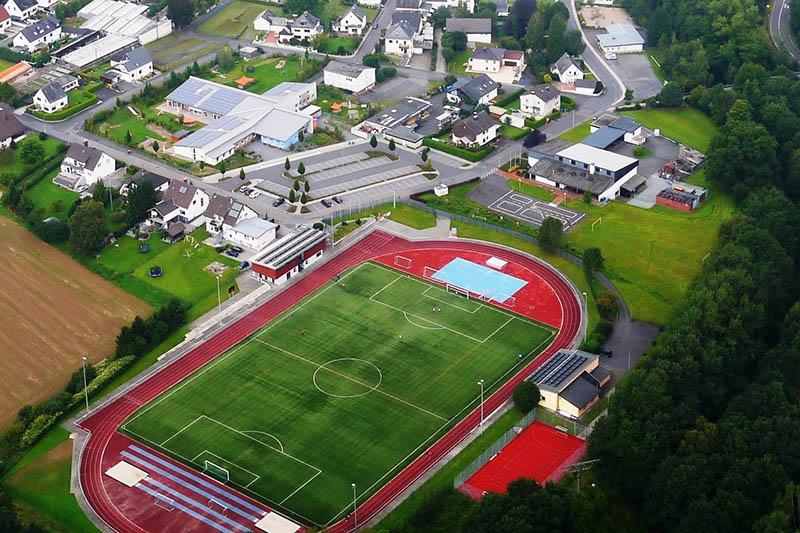 Puderbacher Sport-Stadion feiert Geburtstag